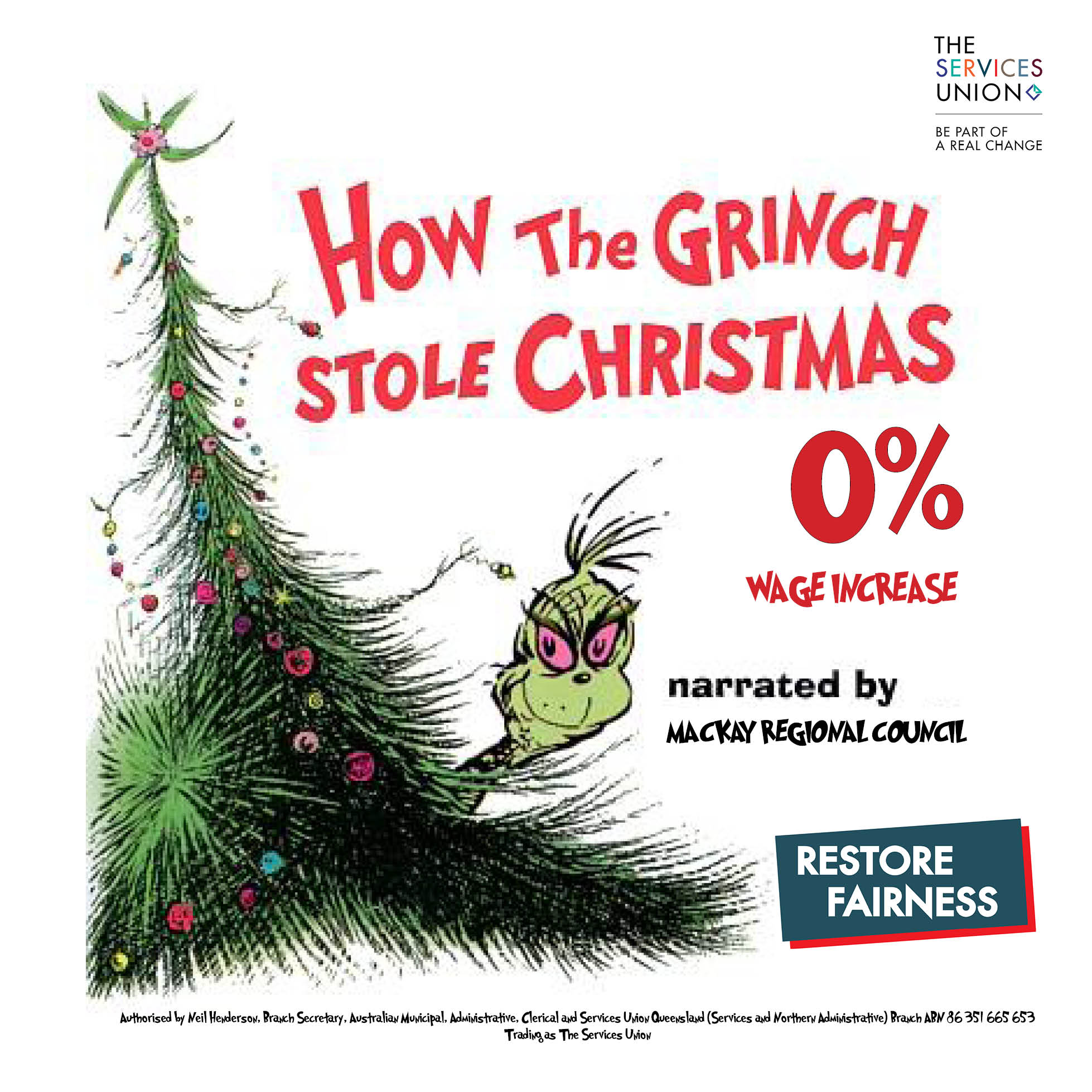 How The Grinch Stole Christmas at Mackay Regional Council! - The ...